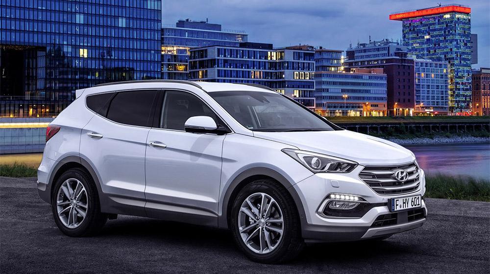 Hyundai Santa Fe 2017 đáp ứng tốt về mức độ an toàn