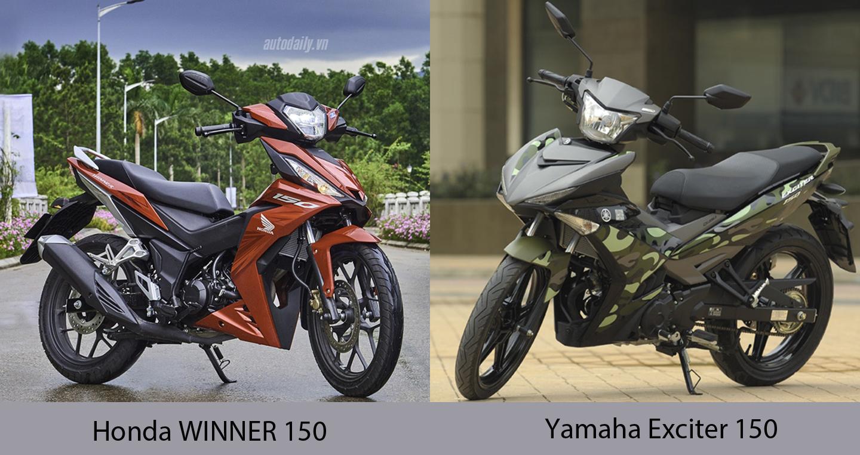 45,5 triệu, chọn Yamaha Exciter 150 hay Honda WINNER 150?