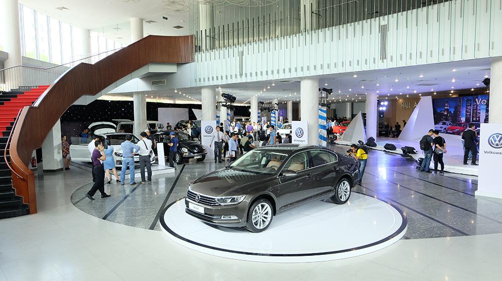 Volkswagen tổ chức triễn lãm lần đầu tiên tại Việt Nam 2
