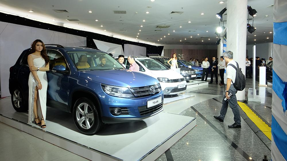 Volkswagen tổ chức triễn lãm lần đầu tiên tại Việt Nam