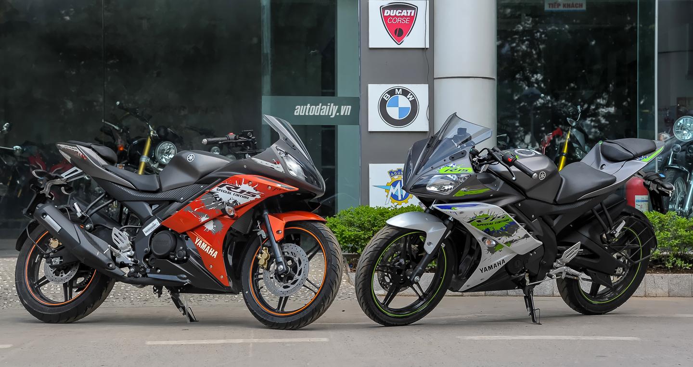 Soi chi tiết Yamaha R15 phiên bản màu mới tại Việt Nam