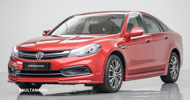 """Chốt giá mềm, Proton Perdana 2017 """"đe họa"""" Toyota Camry"""