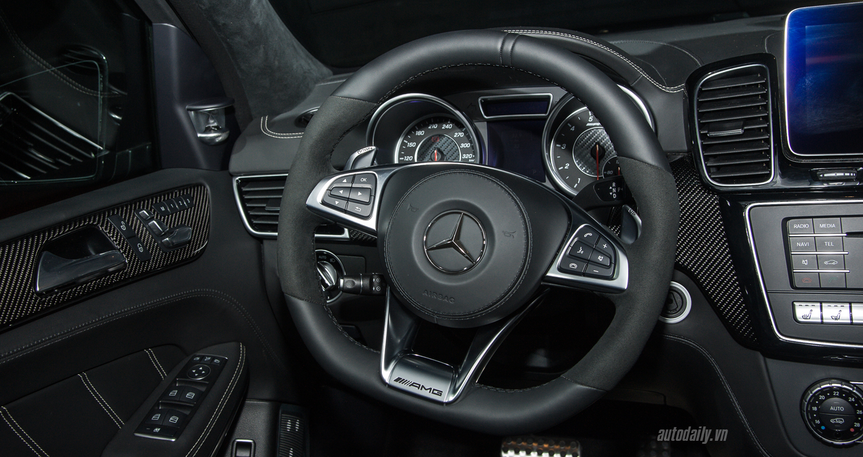 Đánh giá xe Mercedes GLS63 2017 AMG thông số kỹ thuật và giá bán mới nhất