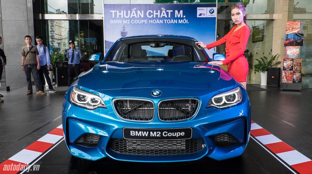 BMW ra mắt M2 Coupe tại Việt Nam, giá gần 3 tỷ đồng