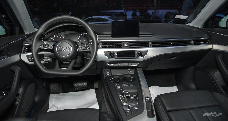 Đánh giá Audi A4 2016 và Mercedes C200 về thiết kế nội thất