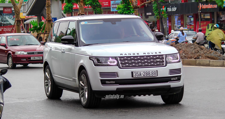 Siêu SUV Range Rover SVAutobiography biển