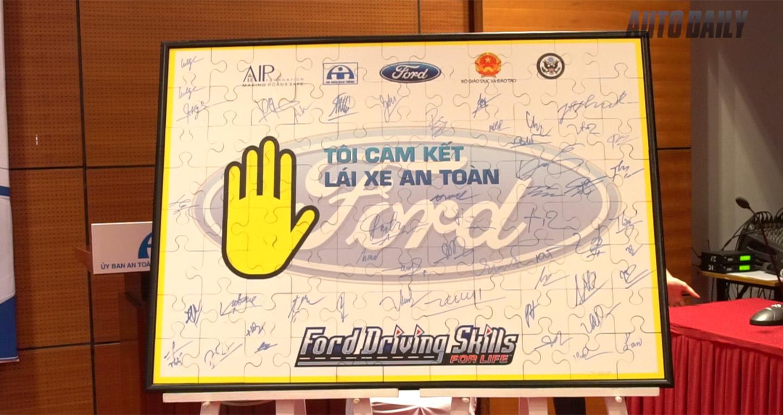 Ford Việt Nam tiếp tục nỗ lực vì an toàn giao thông