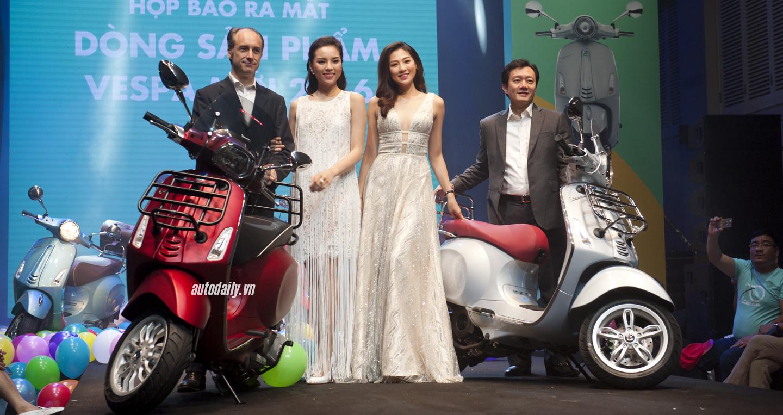 Piaggio Việt Nam ra mắt bộ ba Vespa Primavera, Vespa GTS và Vespa PX 1