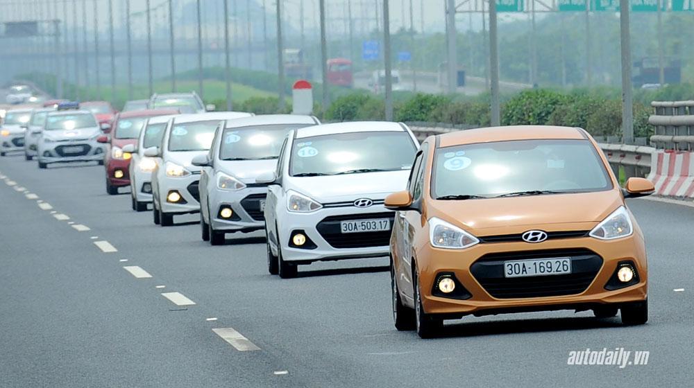 Xe bán chạy Hyundai Grand i10 sắp được lắp ráp trong nước