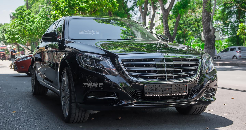 Ngoại thất Mercedes Maybach S500 tại Hà Nội