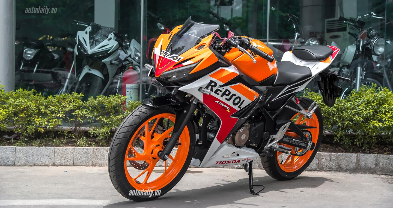 Lộ ảnh Honda CBR150R 2016 bản Repsol xuất hiện tại Hà Nội 1