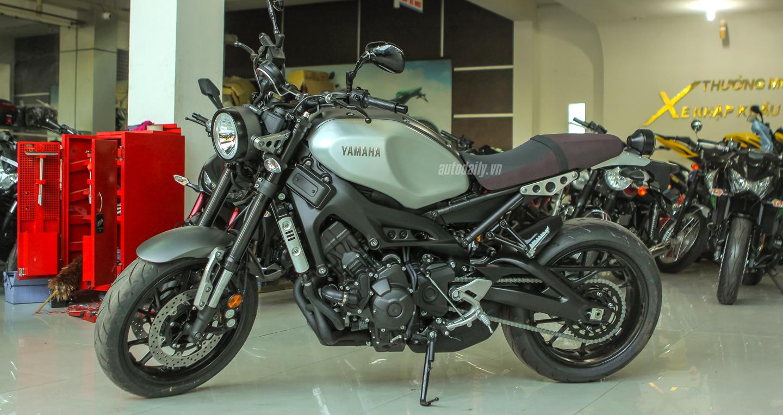 Yamaha XSR 900 ABS đầu tiên về Hà Nội giá trên 300 triệu đồng