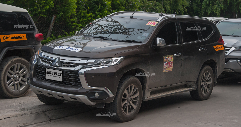 Bất ngờ bắt gặp Mitsubishi Pajero Sport 2016 trên đường phố Hà Nội 5