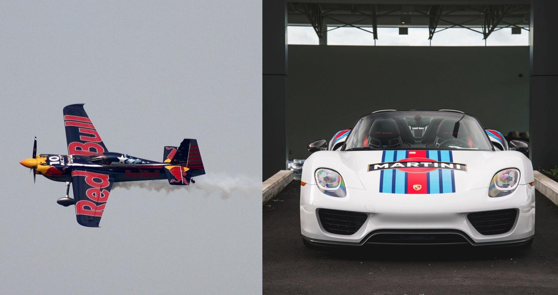 Video: Siêu phẩm Porsche 918 Spyder đọ sức cùng máy bay biểu diễn