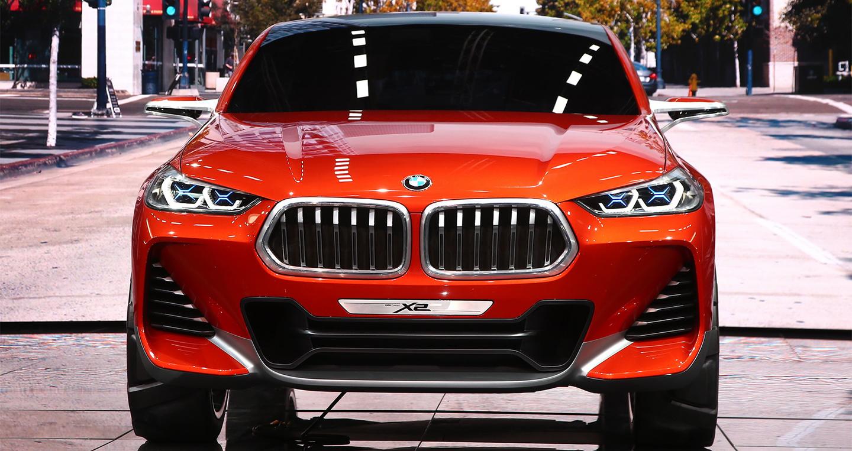 BMW X2 dạng concept được giới thiệu ở triển lãm ô tô Paris 2016 9