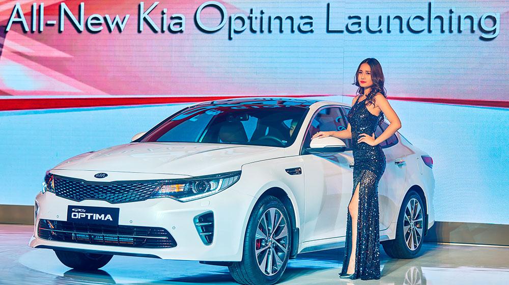 """Kia Optima 2016 """"chào"""" thị trường Việt, giá từ 915 triệu đồng"""