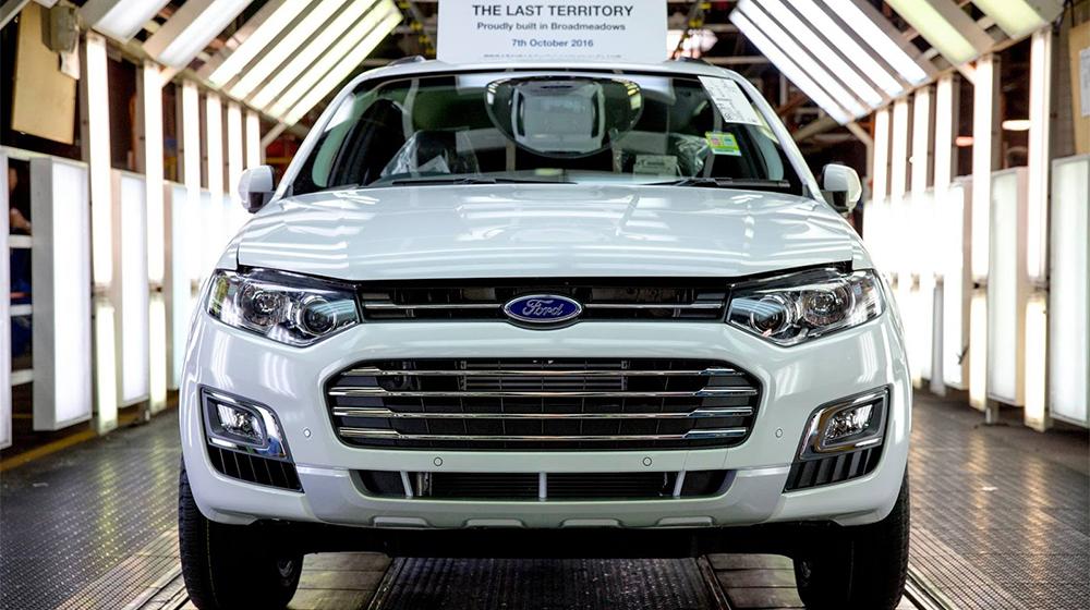 Ford dừng sản xuất tại thị trường Úc