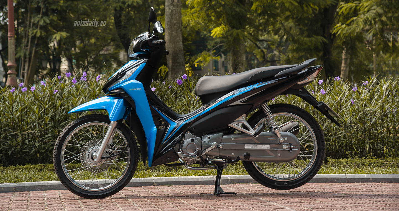 Honda Wave RSX 2017 đen mờ và xanh dương được bán từ 21,5 triệu VNĐ 2