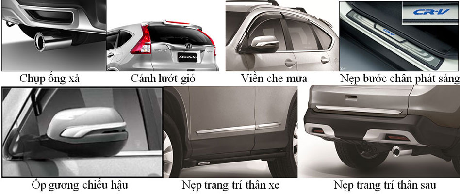 phụ kiện cho xe Honda CRV