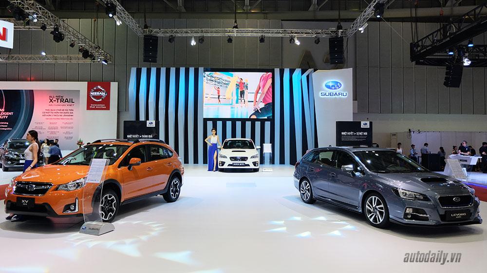 """Subaru """"khoe"""" công nghệ """"đỉnh"""" tại VIMS 2016"""