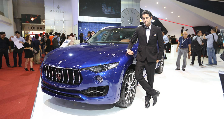 """Maserati mang """"chất Ý"""" đến triển lãm VIMS 2016"""