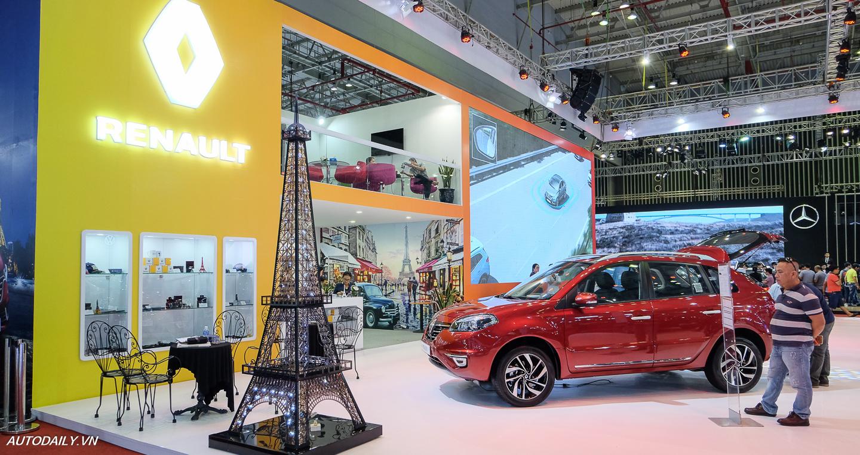 """Góc """"văn hóa Pháp"""" tại gian hàng Renault"""