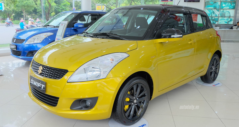 Suzuki Swift RS 2016 giá hơn 600 triệu đồng tại Việt Nam