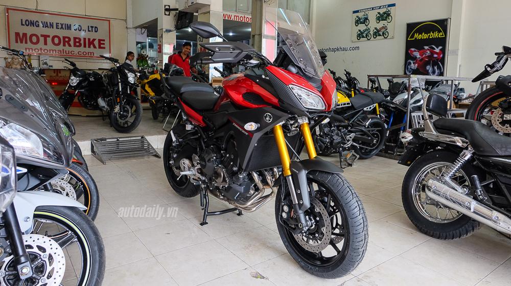 Yamaha MT-09 Tracer 2016 giá hơn 300 triệu tại Sài Gòn