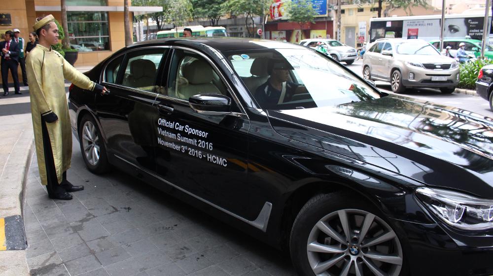 BMW đồng hành cùng Hội nghị Thượng đỉnh Việt Nam 2016
