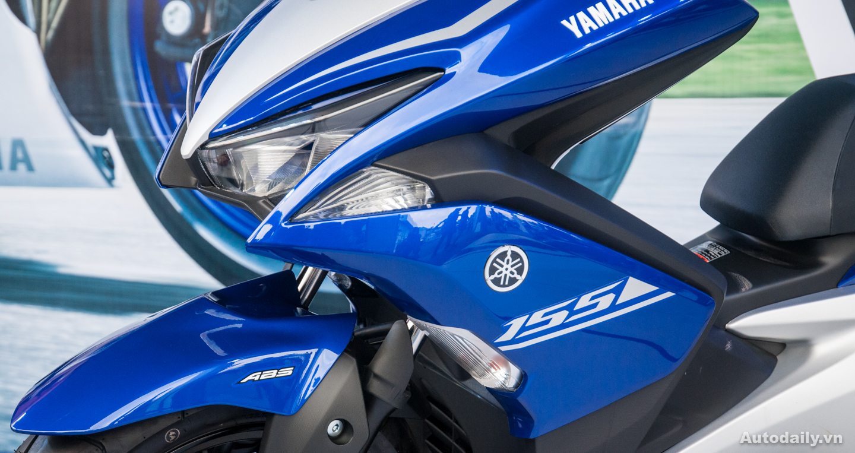 Yamaha NVX 155cc 2017 chính thức có mặt ở Việt Nam tại giải đua Yamaha GP 2