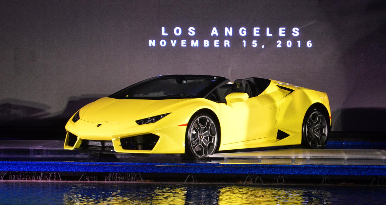 Lamborghini Huracan LP580-2 Spyder chính thức trình làng
