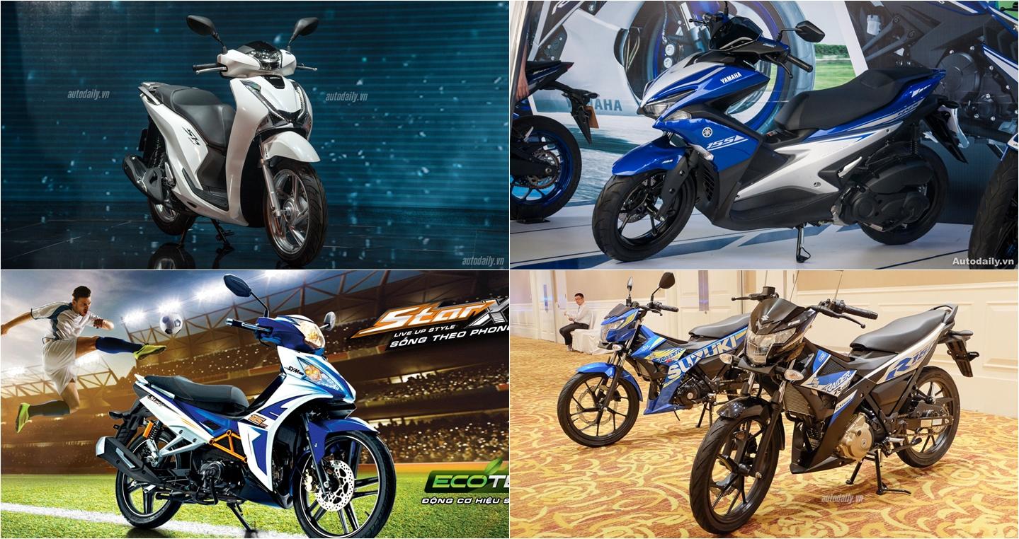 Những lựa chọn mới khi mua xe máy dịp cuối năm