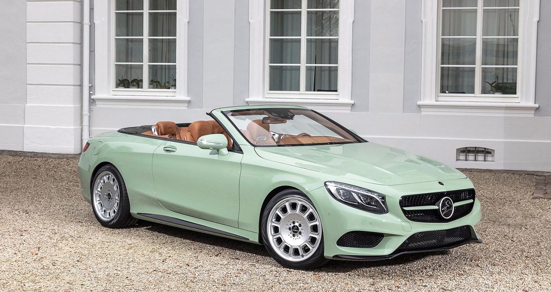 Ấn tượng Mercedes S500 Cabriolet độ, giá hơn 270.000 USD