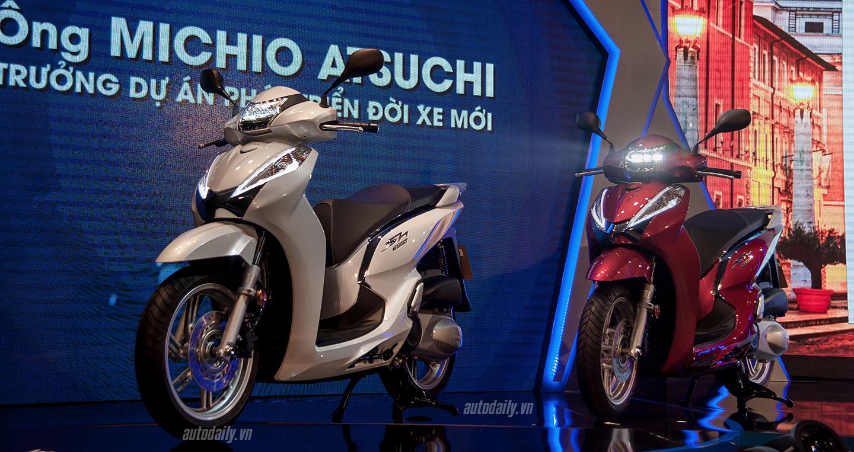 Honda Việt Nam ra mắt SH300i nhập khẩu từ Ý
