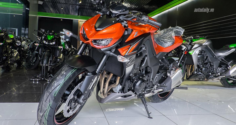 Xem thêm ảnh mẫu naked-bike Kawasaki Z1000 2017