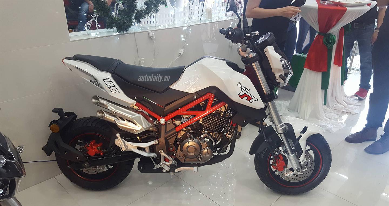 Benelli TNT125 cạnh tranh Honda MSX125 giá chỉ 41,9 triệu tại Việt Nam