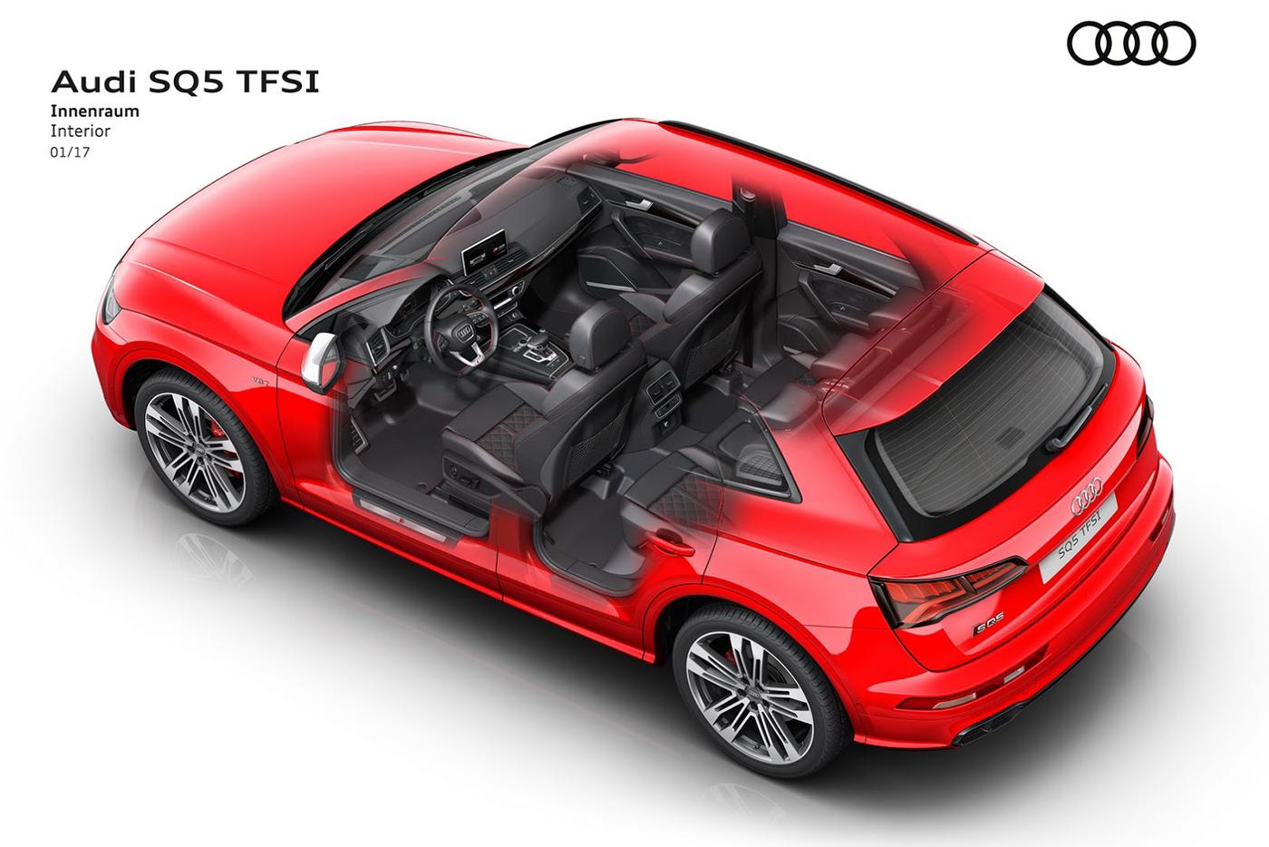 Audi giới thiệu SQ5 hoàn toàn mới, công suất 350 mã lực - ảnh 7