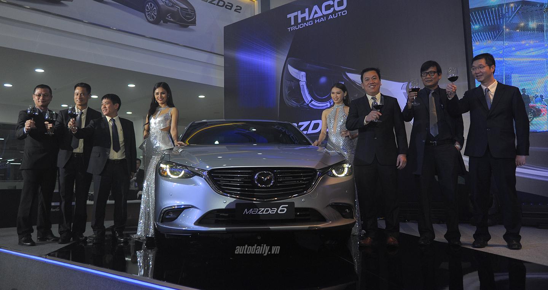 Mazda6 2017 chính thức ra mắt tại Việt Nam, giá từ 975 triệu - ảnh 1