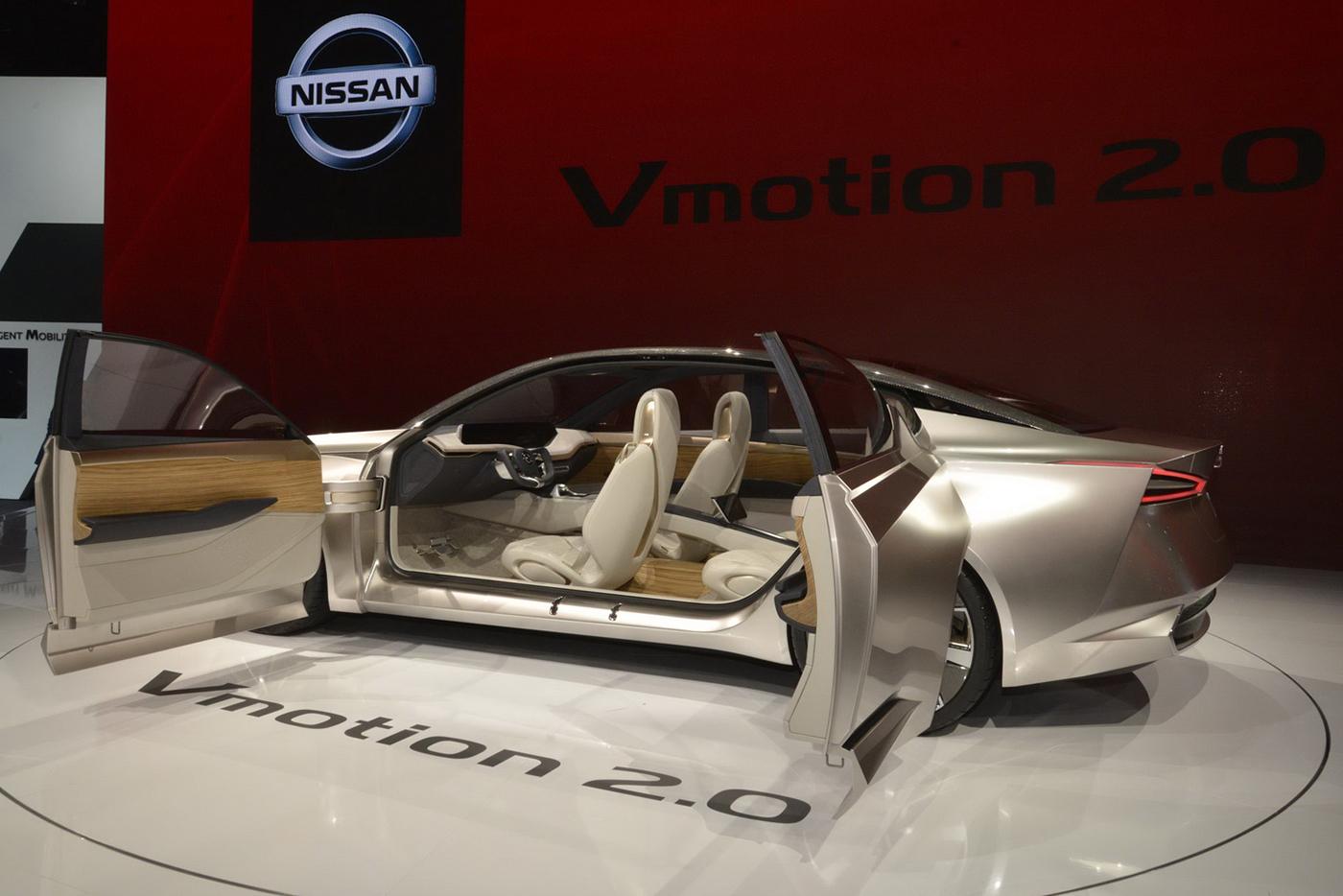 """Chiêm ngưỡng mẫu concept """"tuyệt đẹp"""" Nissan Vmotion 2.0 - ảnh 6"""