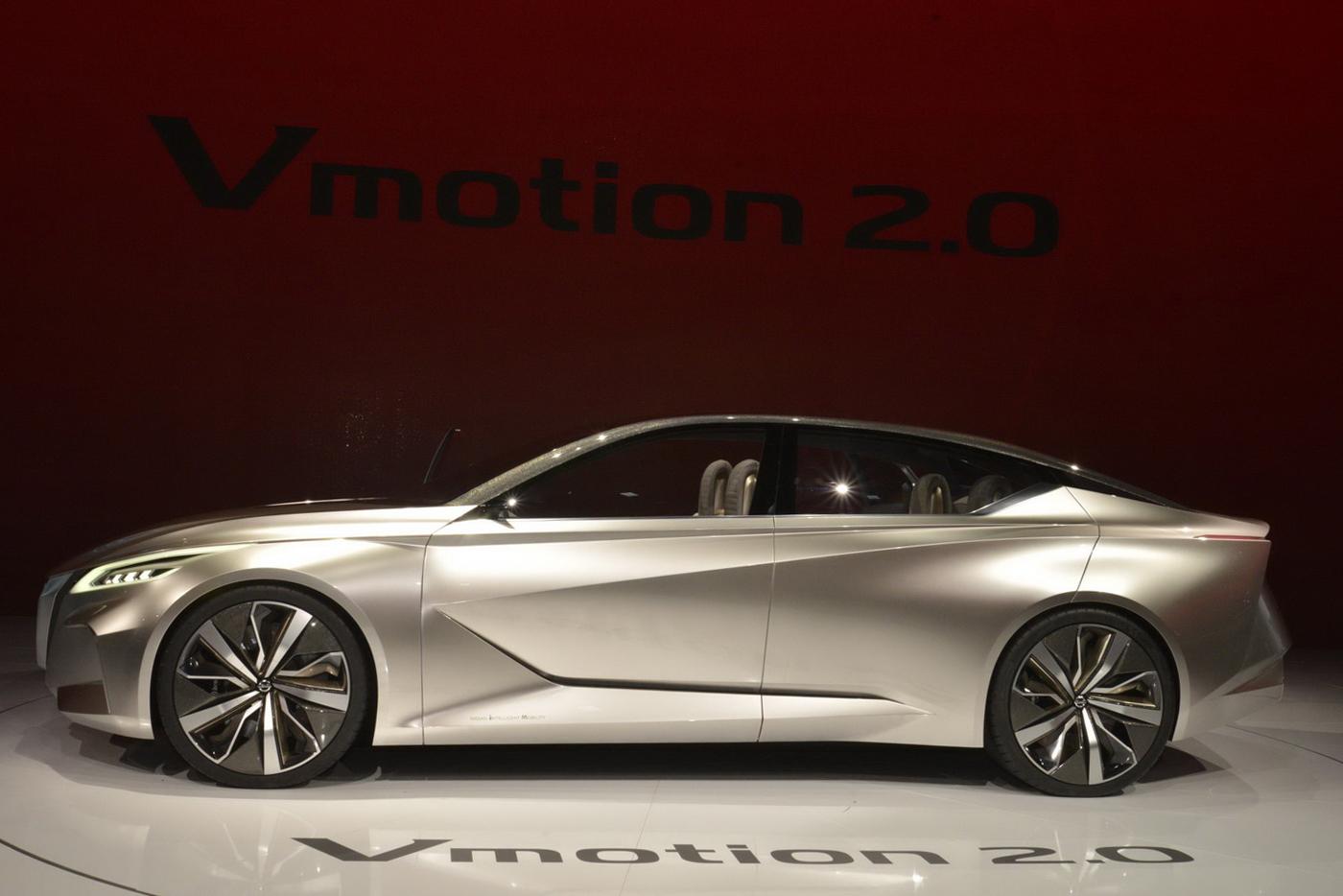 """Chiêm ngưỡng mẫu concept """"tuyệt đẹp"""" Nissan Vmotion 2.0 - ảnh 3"""