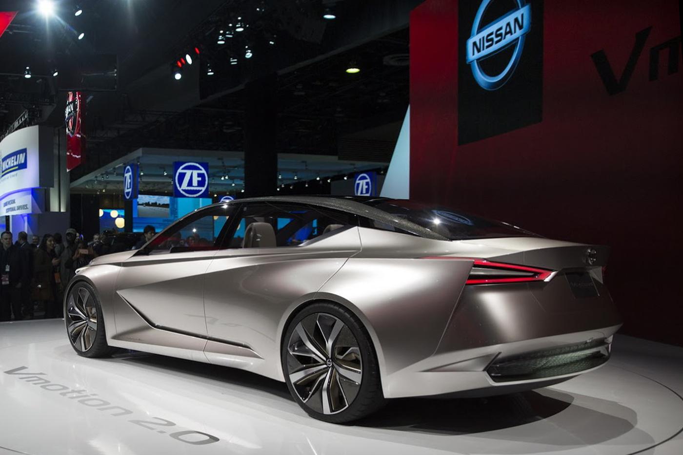 """Chiêm ngưỡng mẫu concept """"tuyệt đẹp"""" Nissan Vmotion 2.0 - ảnh 4"""