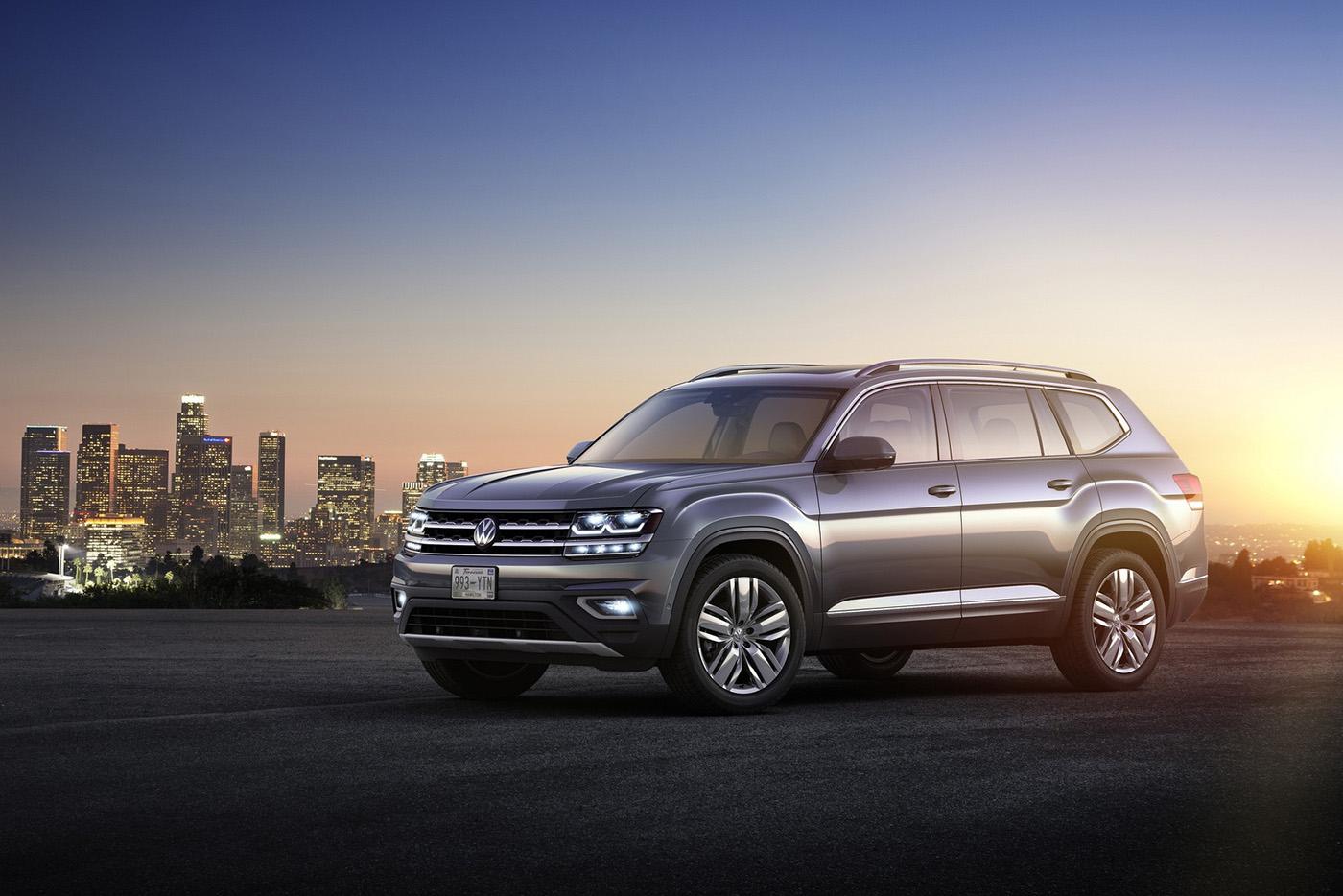 Volkswagen Atlas 2017 có giá từ 30.000 USD - ảnh 2