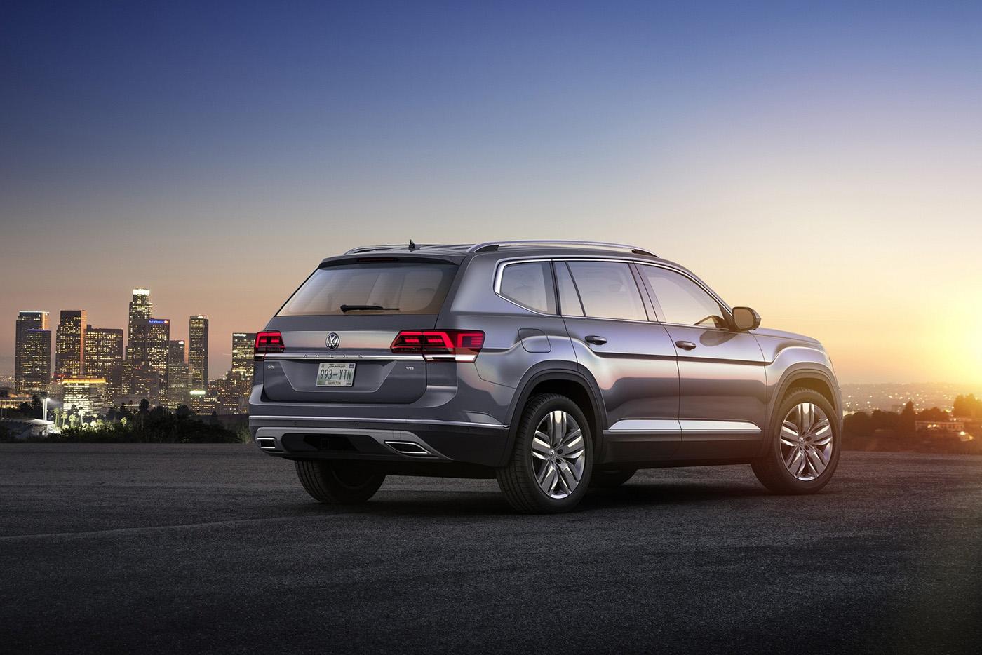 Volkswagen Atlas 2017 có giá từ 30.000 USD - ảnh 4