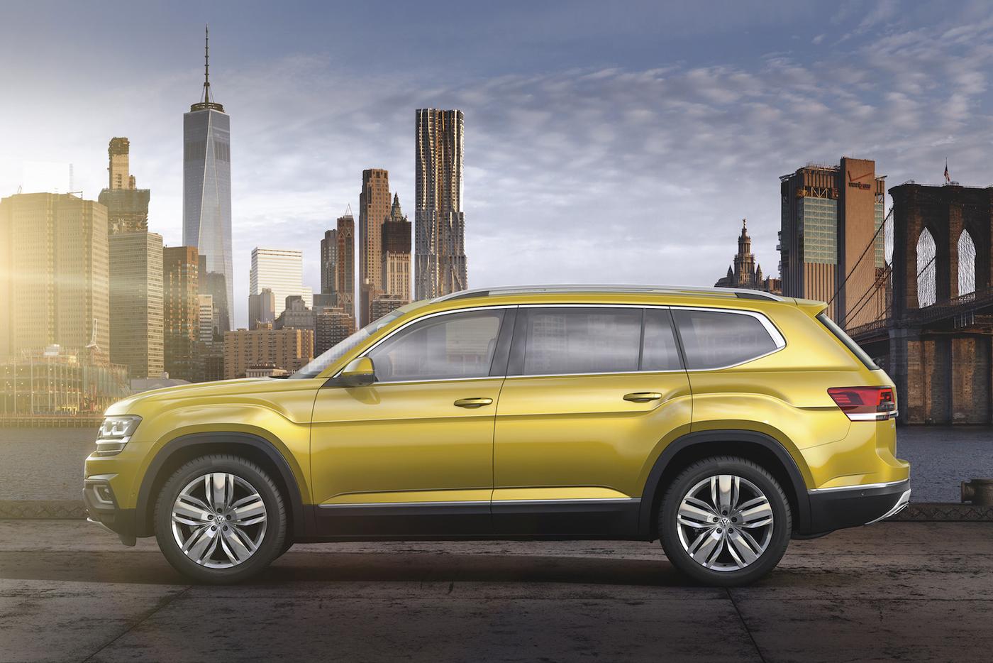 Volkswagen Atlas 2017 có giá từ 30.000 USD - ảnh 6