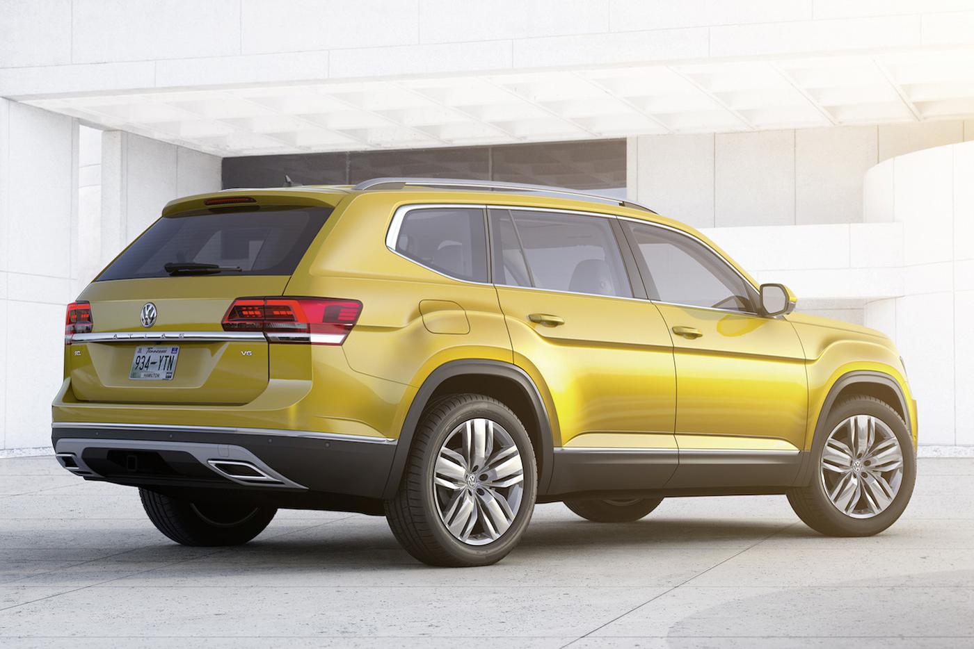 Volkswagen Atlas 2017 có giá từ 30.000 USD - ảnh 7
