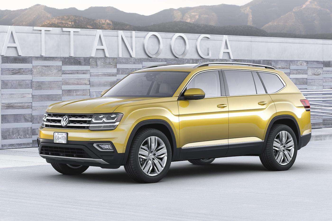 Volkswagen Atlas 2017 có giá từ 30.000 USD - ảnh 5