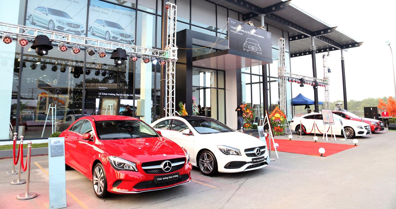 Mercedes-Benz An Du Hải Phòng đạt tiêu chuẩn Autohaus 100