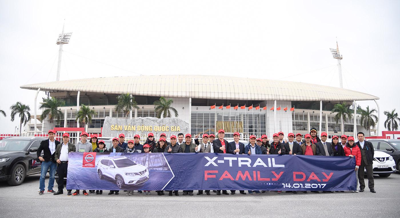 """Nissan Việt Nam tổ chức """"Ngày gia đình X-Trail"""""""