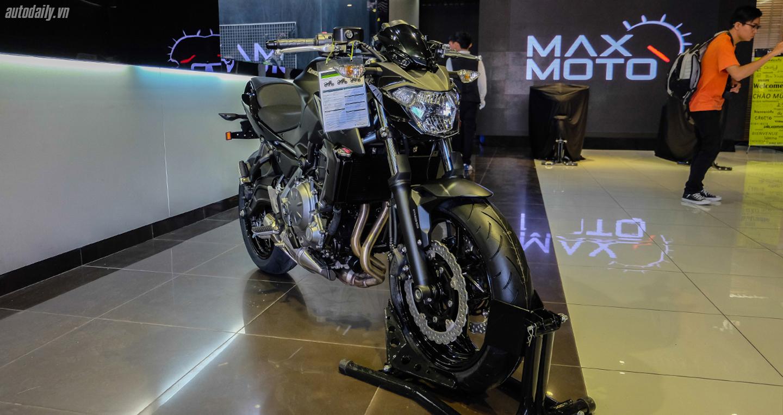 """Kawasaki Z650 ABS và Z900 ABS """"chào"""" thị trường Việt"""