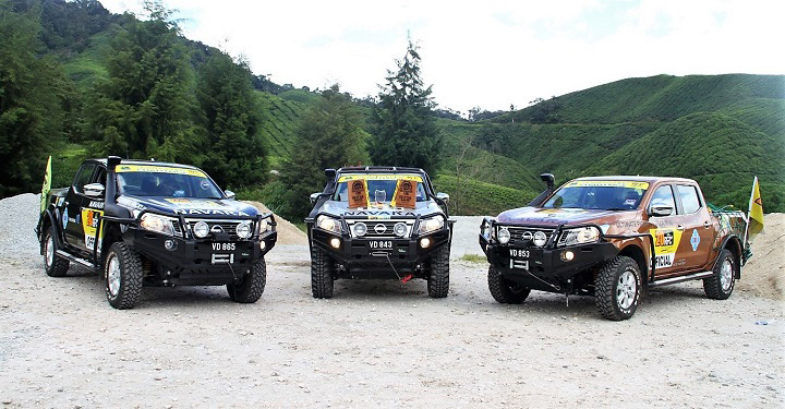 Nissan Navara: Bán tải tốt nhất tại Cuộc thi Thử thách Rainforest